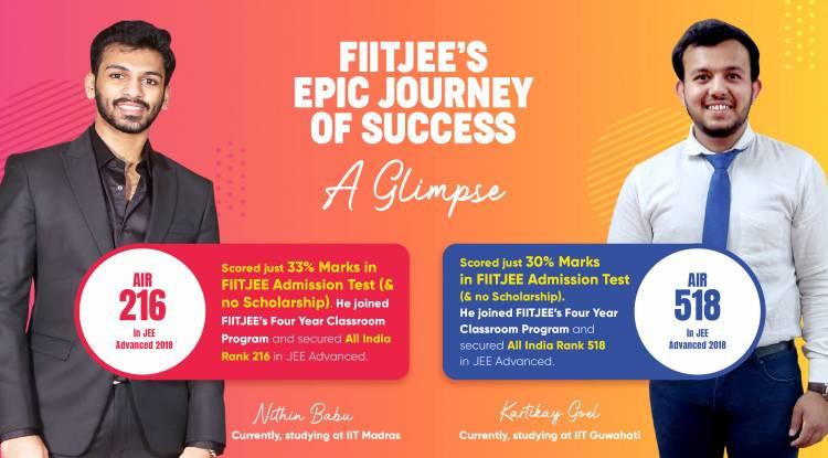 FIITJEE's Epic Journey of Success - A Glimpse