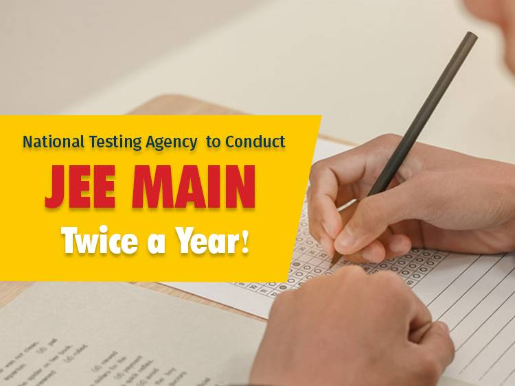 National Testing Agency to Conduct JEE, NEET, NET-UG Twice a Year!