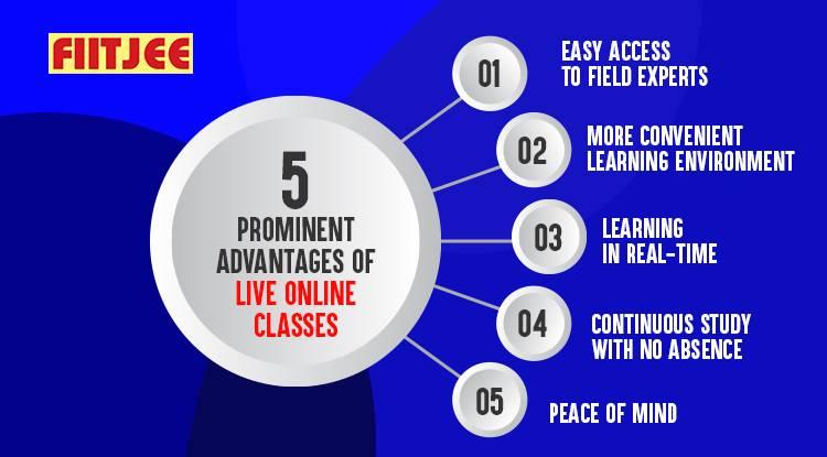 5 Prominent Advantages of Live Online Classes