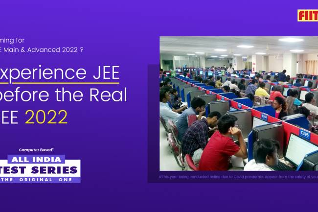 All India Test Series- Experience JEE before the Real JEE