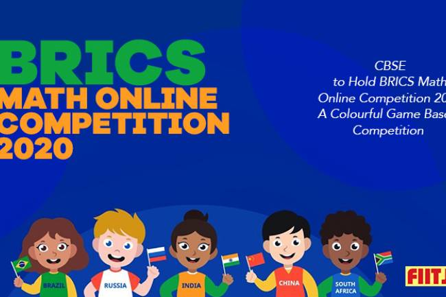 CBSE to Hold BRICS Math Online Competition 2020- A Colourful Game-Based Competition