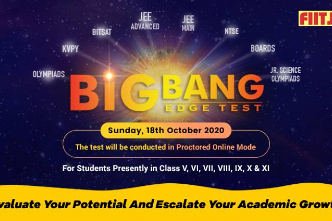 Big Bang Edge Test – Evaluate Your Potential And Escalate Your Academic Growth